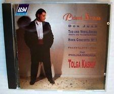 Tolga Kashif, Frank Lloyd / R. 슈트라우스 : 죽음과 변용, 돈 후앙, 호른 협주곡 1번 (R. Strauss : Death and Transfiguration Op.24, Don Juan, Op.20, Horn Concerto Op.11) (SKCDL0423)