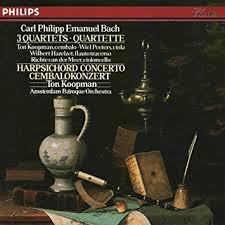 Carl Philipp Emanuel Bach :  3 Quartets & Quartette ///LP1