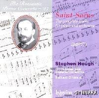 Stephen Hough, Sakari Oramo / 낭만주의 피아노 협주곡 27집 - 생상 : 피아노 협주곡 전집(2CD/수입/CDA673312