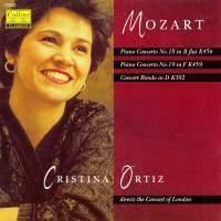 Cristina Ortiz / Mozart : Piano Concertos Nos. 18 & 19 (수입/12542)
