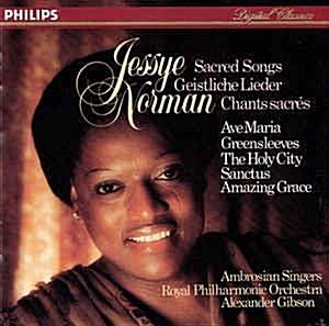 [일본반] Jessye Norman - 제시 노먼 - 놀라운 은총: 성가 모음집 (Jessye Norman - Amazing Grace: Sacred Songs)