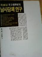 남사당패 연구 /(심우성/하단참조)