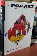 POP ART - 팝 아트 - 수입서적 - 컬러,흑백 도판많음- -절판된 귀한책-아래사진참조- 보통 소설보다 약간작은책  -