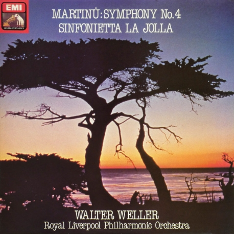 [수입][LP] Walter Weller - Martinu: Symphony No. 4 / Sinfonietta La Jolla