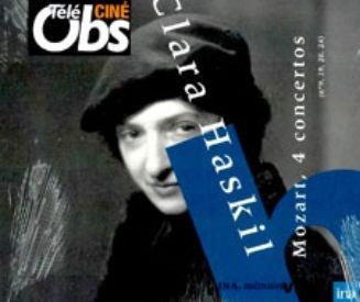 클라라 하스킬 모차르트 피아노 협주곡 9, 19, 24 & 20번 [2CD]