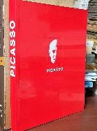 PICASSO - 피카소  - 컬러,흑백 도판 - 뒤쪽 무젱의 156 판화집- 227/280/21 큰책- -초판-새책수준-아래사진참조-