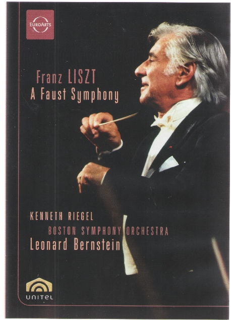 리스트 : 파우스트 교향곡 (Liszt : Faust Symphony) (DVD) - Leonard Bernstein