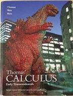 Thomas' Calculus Early Transcendentals Second Custom Edition for the University of Pennsylvania   (English) Hardcover
