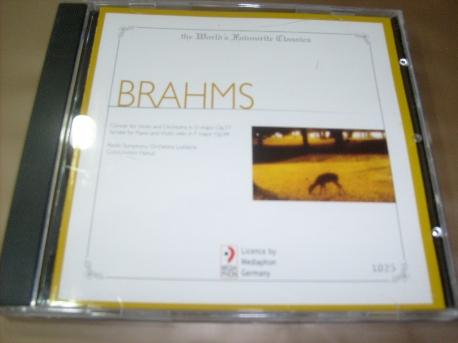 [수입 CD] Johannes Brahms - 1025