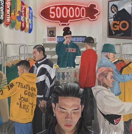 레디  500000  미개봉 lp
