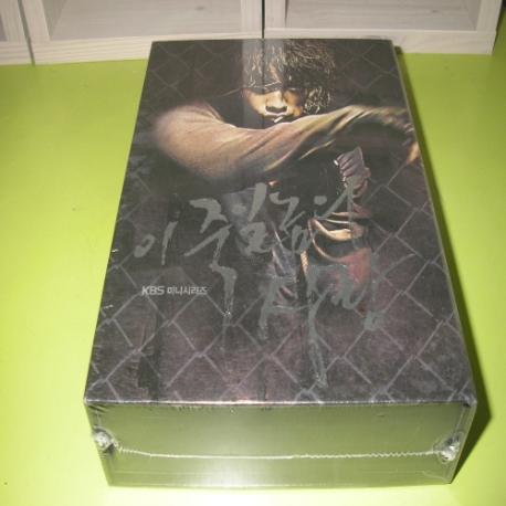 이죽일 놈의사랑  박스세트 (6disc)  주 연 비  신민아  김사랑  이기우   새상품 입니다.