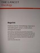 THE LANCET Oncology : 절제 가능한 위암에서 항암요법 반응에 대한 예측 테스트 (English)