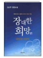장대한 희망 - 김선주 장편소설(양장본) 초판 1쇄