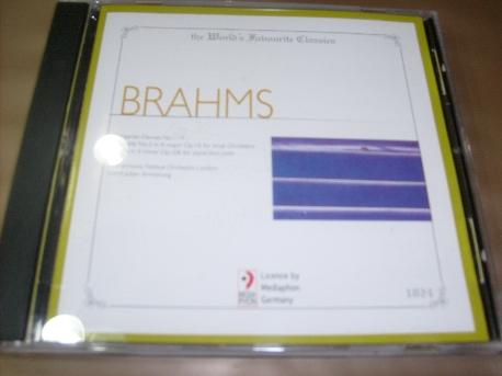 [수입 CD] Johannes Brahms - 1024