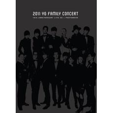 2011 YG Family Concert Live : 15th Anniversary [2CD + Photo Book] [홍보용, 책자에 사용감 있음, 패밀리 카드 없음]