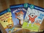 Random House -3권/ Step Into Reading Cat on the Mat. Mice Are Nice. Honey Bunnys Honey Bear -사진.설명란참조