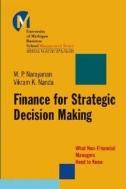 Finance for Strategic Decision-Making