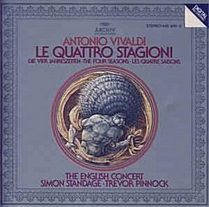 [수입] Antonio Vivaldi - Le Quattro Stagioni (Die Vier Jahreszeiten) / Pinnock