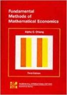 Fundamental Methods of Mathematical Economics 3/e, International Edition