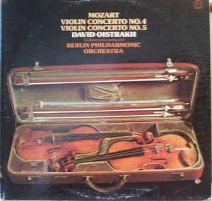 David Oistrakh(Violin) / Mozart - Violin Concerto Nr.1-Nr.4 (2LP) 다비드 오히스트라으 특선