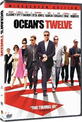 오션스 트웰브 - Ocean's Twelve (1disc) 개봉된 중고품,1디스크구성,본편 약125분, 상태굳
