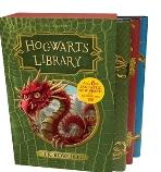 Hogwarts Library Box Set 호그와트 교과서 3종 세트 (영국판) Fantastic Beasts and Where to Find Them / Quidditch Through the Ages / The Tales of Beedle the Bard [ Hardback, Box Set, 영국판 ] 해리 포터 시리즈 호그와트 라이브러리 세트