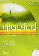 OPENMIND 1 WORKBOOK WITH AUDIO CD