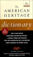 The American Heritage Dictionary. 4/ed ([포켓북.문고판)