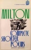 John Milton: Complete Shorter Poems (Longman Annotated English Poets) (Paperback, 1981 수정4쇄)