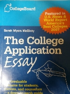 The College Application Essay(Paperback)