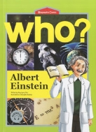 Who? Albert Einstein 알베르트 아인슈타인 (영문판) (아동만화/영문판/c.d2장포함)