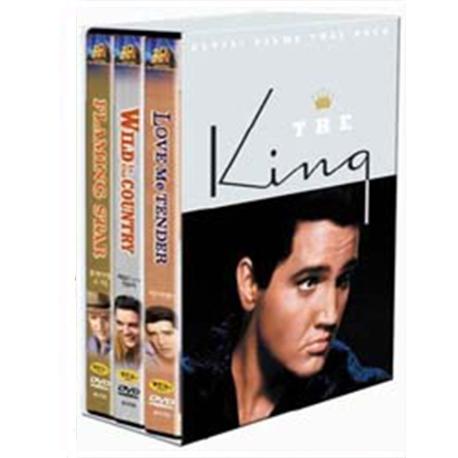 (DVD) 엘비스 프레슬리 박스세트 (King, The - Elvis, 3disc)