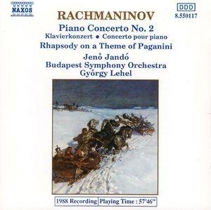 Jeno Jando, Gyorgy Lehel / 라흐마니노프 : 피아노 협주곡 2번, 파가니니 랩소디 (수입/8550117)