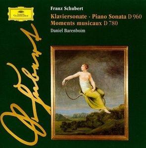 Daniel Barenboim / Schubert : Piano Sonata D960, Moments musicaux D780 (수입/미개봉/4536742)