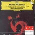 BOLERO/ RAPSODIE ESPAGNOLE/ ABBADO / Ravel [미개봉 / 라이센스 음반] * 라벨 - 볼레로 - 아바도