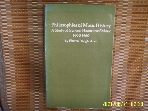 Dover Publications / Philosophies of Music History A Study of ... 1600-1960 / Warren Dwight Allen  -사진.꼭상세란참조