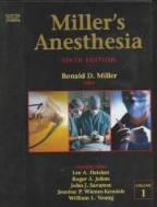 Miller's Anesthesia  (Hardcover, 6th)
