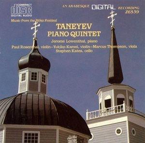 Jerome Lowenthal, Paul Rosenthal, Yukiko Kamei, Marcus Thompson, Stephen Kates / Taneyev : Piano Quintet (수입/Z6539)