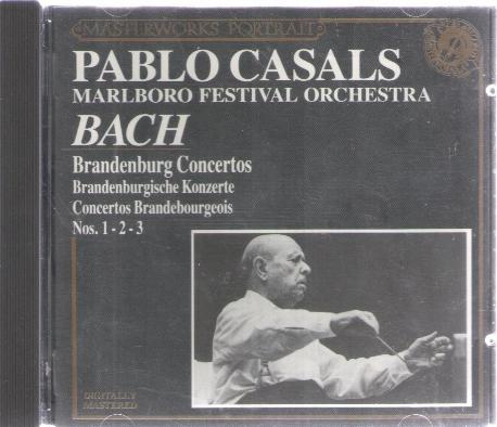PABLO CASALS BACH Brandenburg Concertos 1- 2- 3