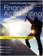 Financial accounting (5th Edition, Paperback) - Tools for business decision making
