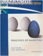 Principles of Marketing 11/E