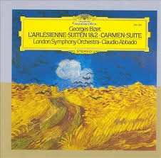 Georges Bizet : L'Arlesienne-Suiten 1 & 2. Carmen-Suite ///LP1