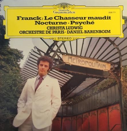 [수입][LP] Christa Ludwig, Orchestre De Paris, Daniel Barenboim - Le Chasseur Maudit/Nocturne/Psyche
