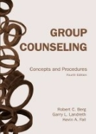 Group Counseling: Concepts and Procedures (Paperback/ 4th Ed.)