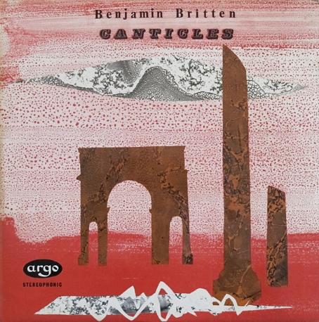 [수입][LP] John Hahessey/Peter Pears/Benjamin Britten, Etc. - Britten: Three Canticles