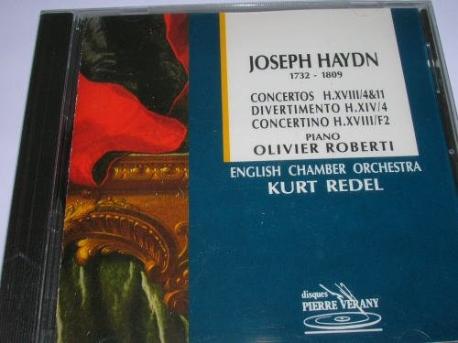joseph haydn/piano concertos & divertimento