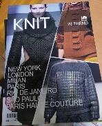 KNIT IN TREND 2013~2014 A/W 외국어판/털실패션잡지