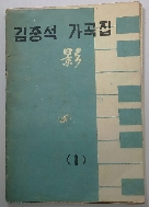 김중석 가곡집 [영] :남승만,김훈,모윤숙,조철원,윤동주,박목월 작사
