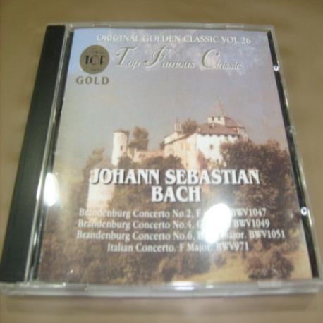 [수입 CD] Johann Sebastian Bach - Original golen classic Vol. 26