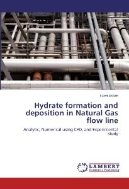 Hydrate formation and deposition in Natural Gas flow line: Analytic, Numerical using CFD, and Experimental study